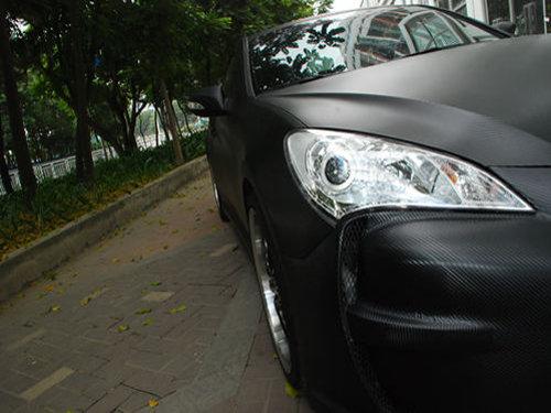 供应PVC汽车碳纤贴膜高防碳纤维贴膜批发