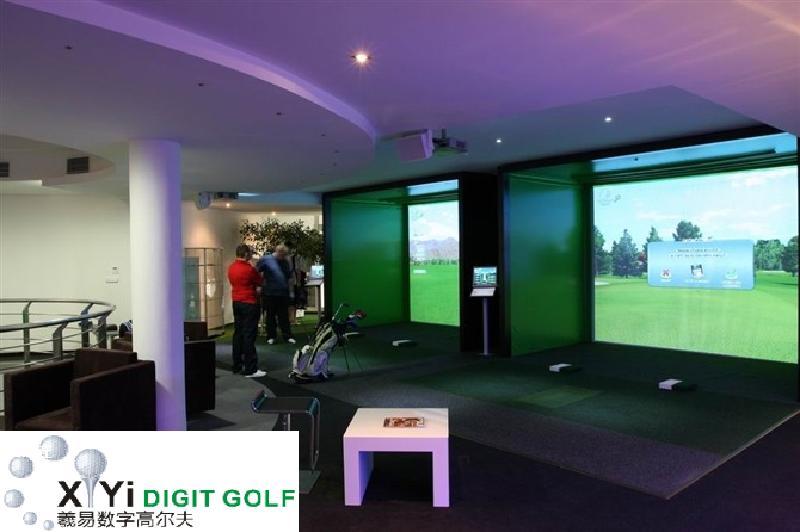室内高尔夫模拟器室内高尔夫练习场