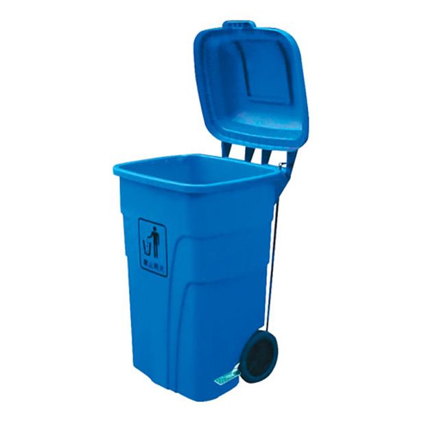 脚踏塑料垃圾箱 白云垃圾箱