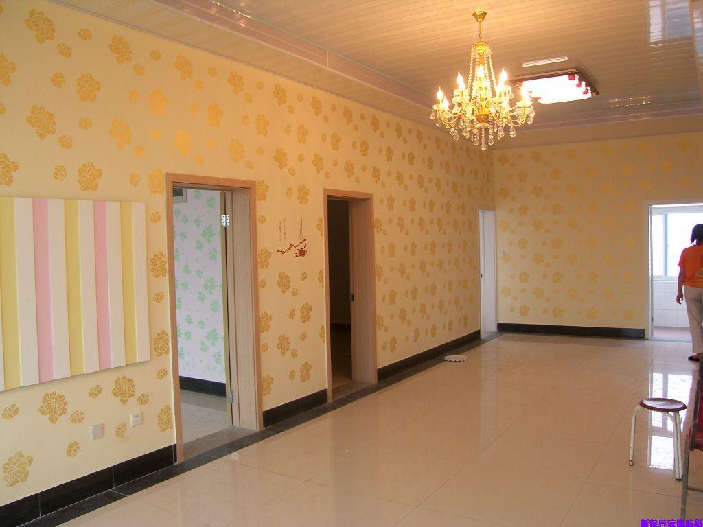 走廊硅藻泥图案