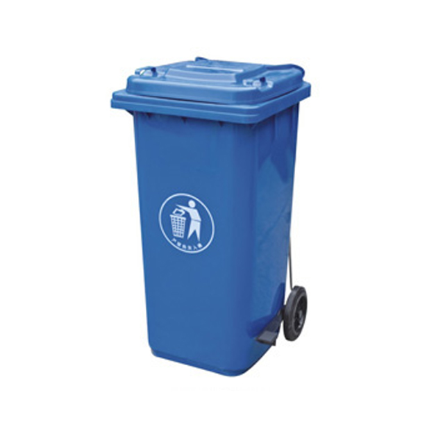 供应200l脚踏式塑料垃圾桶图片