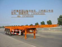 供应两桥集装箱运输车集装箱运输车
