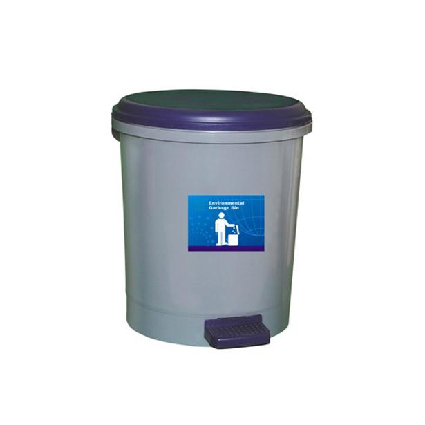 供应9l脚踏式塑料垃圾桶