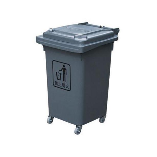 60l环保塑料垃圾桶图片