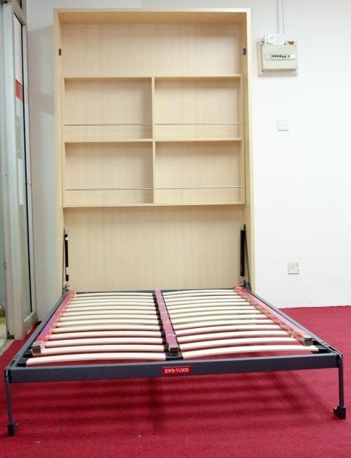 壁床五金配件翻板床折叠床图片