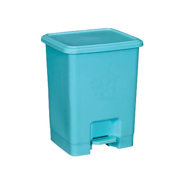 15l脚踏式垃圾桶图片