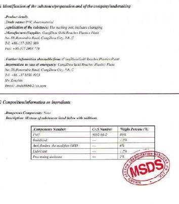 供应MSDS报告操作流程不锈钢MSDS报告金属产品MSDS报告批发