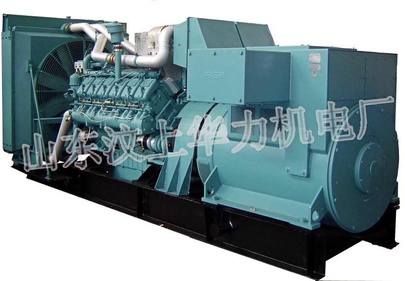奔驰发电机组,大功率发电机组,山东华力现货供应