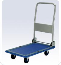 供应静音塑胶平板手推车-PLA150