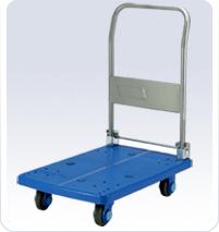 供应静音型塑胶平板手推车-PLA300-DX
