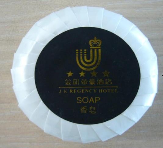 供应厂家批发酒店圆形一次性香皂肥皂