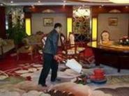 朝阳北路清洗地毯公司图片