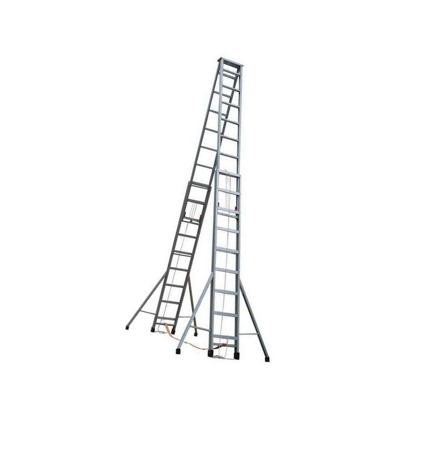 4米5米6米7米8米9米10米铝合金梯子/人字伸缩梯/工程梯 伸缩梯批发 伸缩梯供应商批发