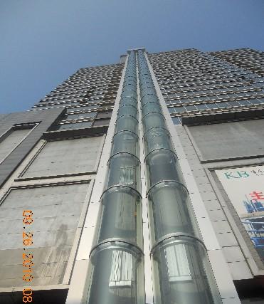供应更换观光电梯玻璃更换各种铝合门窗