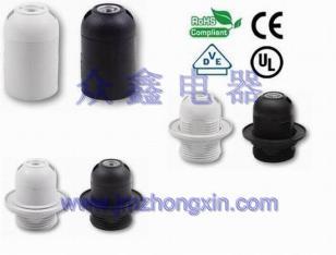 E27塑料灯头图片