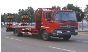 供应东风平板运输车报价/新款中小型工程用车运输工具