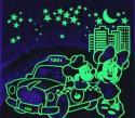 夜光壁纸专用夜光粉夜光五角星专用夜光粉夜光宝石专用夜光粉找金点