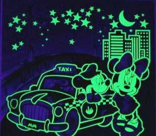 夜光壁纸专用夜光粉图片