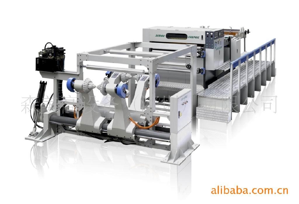 高速裁纸机图片 高速裁纸机 深圳市森美高分切机设备制造...