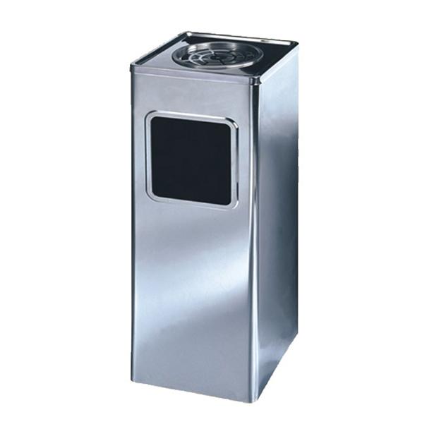供应p-e141方形不锈钢垃圾桶 烟灰盅垃圾桶 电梯口烟灰桶