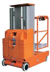 供应全电动移动式铝合金高空作业平台车-AMWP6-1000图片