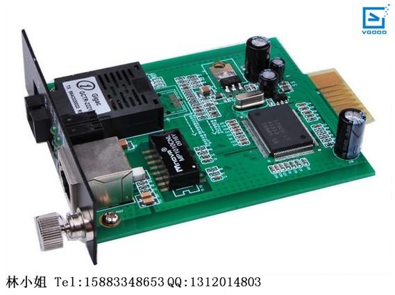 光纤收发器图片 光纤收发器样板图 光纤收发器 卡式光纤收...