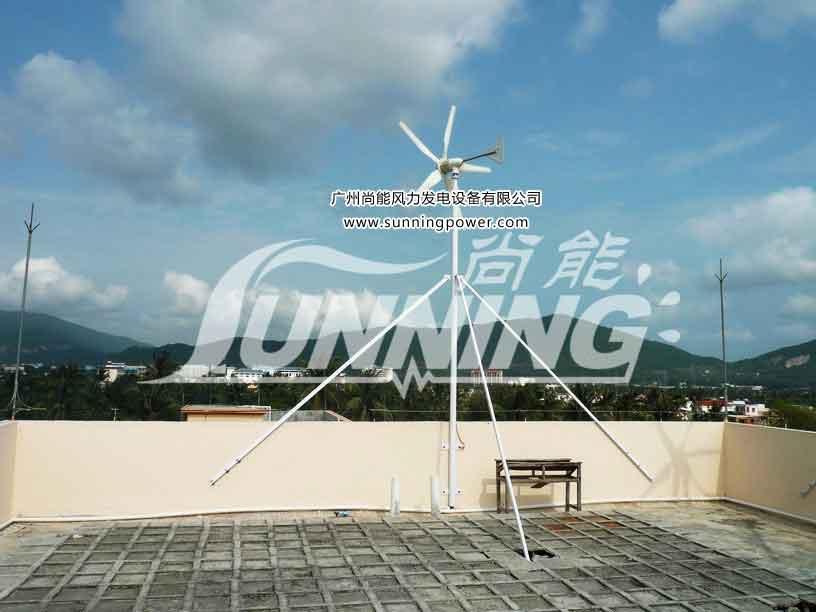 供应海南小型风力发电机风光互补发电系统