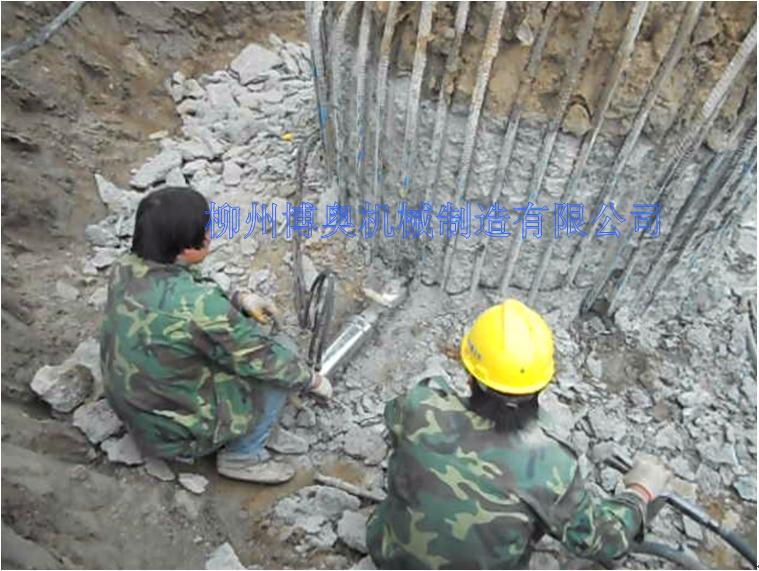 供应岩石混凝土分裂机,柳州博奥生产供应商制造