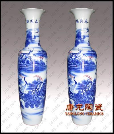 供应陶瓷大花瓶批发 景德镇陶瓷大花瓶 陶瓷大花瓶厂家图片