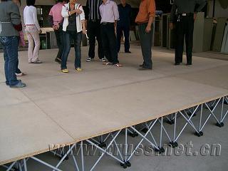 供应移动舞台拉网舞台架折叠舞台架批发