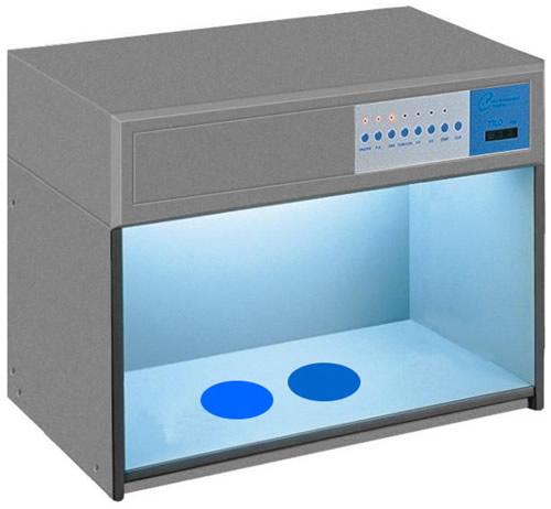 供应六光源标准对色灯箱图片