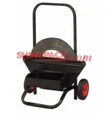 供应SM8161塑钢带钢带手推工具车