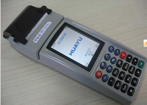 供应GPRS带打印路边停车收费手持机WIFI手持机条码RFID批发