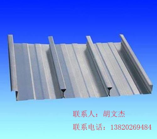 690镀锌折弯件彩钢屋面板和墙面钢结构维护压钢板YX75-690图片