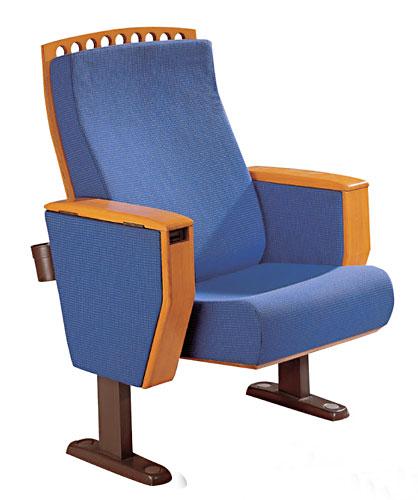 供应礼堂椅带后置水杯架子图片