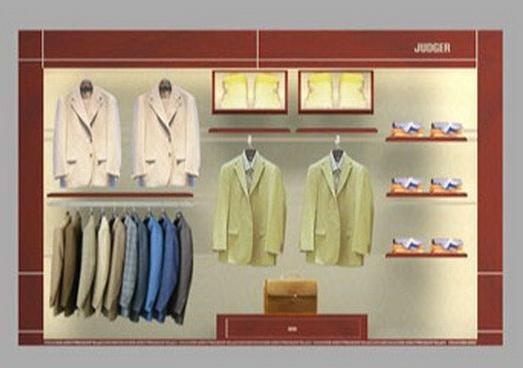 供应服装展柜设计