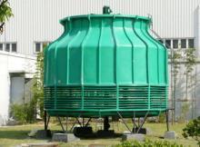 供应玻璃钢圆低噪型逆流式冷却塔