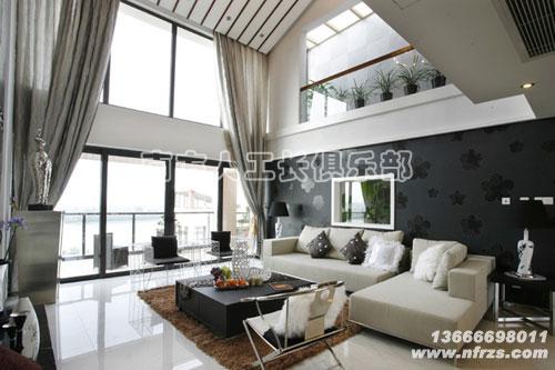 设计效果图   杭州某套新中式风格大房子装修样板间   新房装