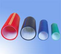 价格合理的高密度聚乙烯硅芯管厂图片