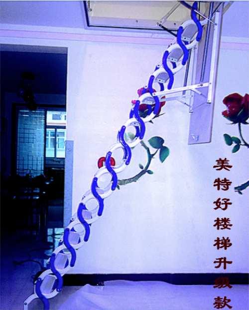 供应阁楼 伸缩楼梯供应全国厂家直销普通型美特好伸缩楼梯供应全国