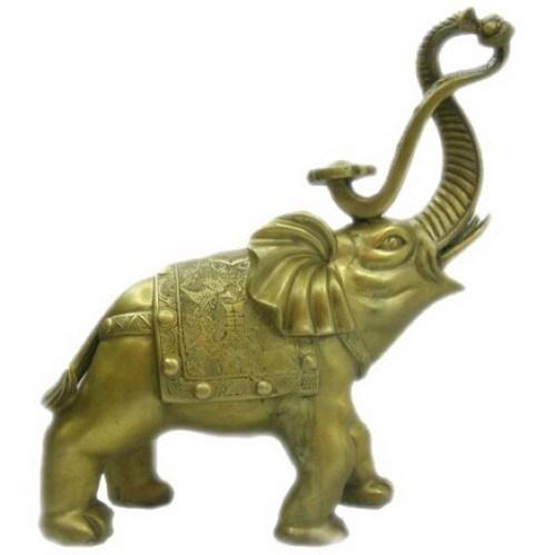 供应大象工艺品摆件-铜象-大象铜雕批发