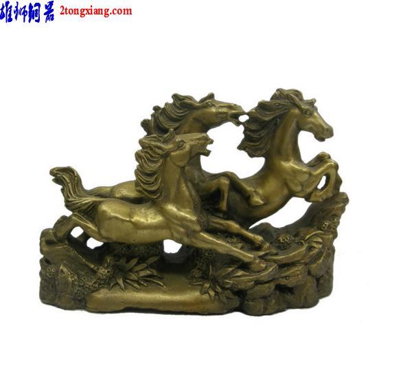 铜吉利马-催官催贵摆件-铜富贵马价格|批发|报价