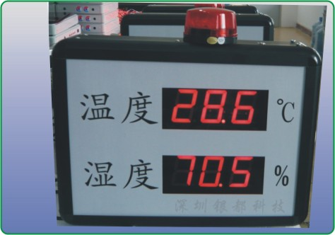 供应机房用温湿度报警器
