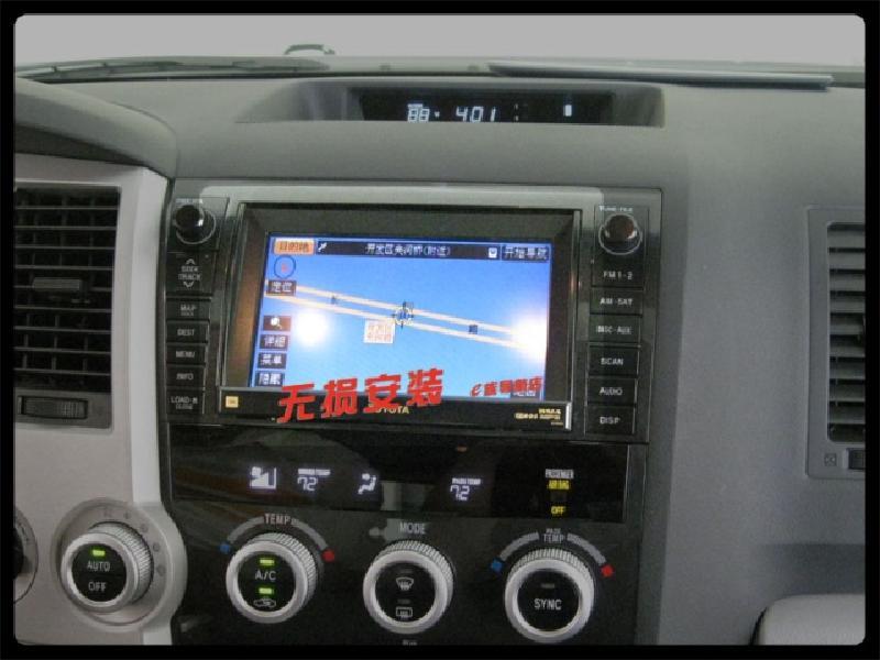 丰田红杉加装导航倒车影像价格|批发|报价