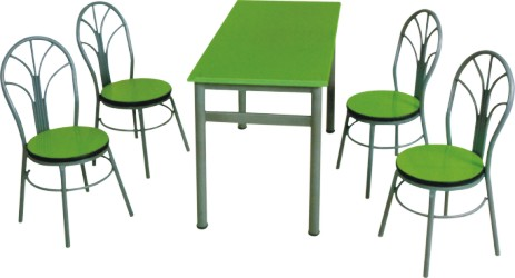 快餐桌椅 四人位快餐桌椅 六人位快餐桌椅 八人位快餐桌椅