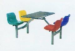 供应快餐桌椅 四人位快餐桌椅 六人位快餐桌椅 八人位快餐