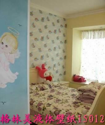 深圳室内装修液体壁纸墙艺设计样板
