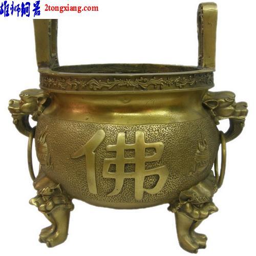 供应敬神炉-佛教香炉-拜神香炉-铜香图片
