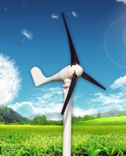 新品100w小型风力发电机图片