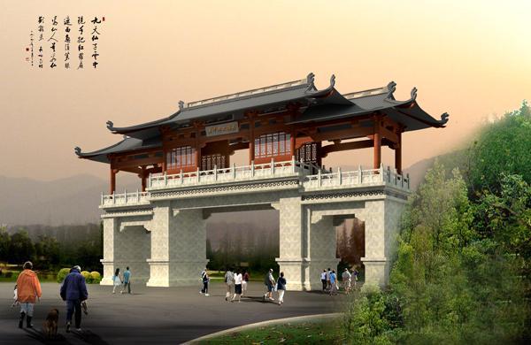 供应古建筑设计仿古建筑设计